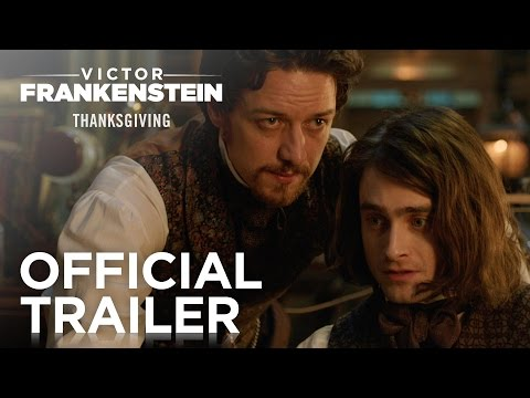 Victor Frankenstein trailers