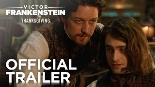 Victor Frankenstein | Official Trailer [HD] | 20th Century FOX