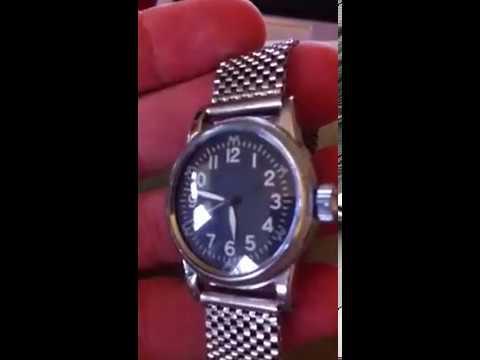 WW2 Elgin A-11 wristwatch