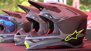 Alpinestars Supertech M10 Helmet Press Launch