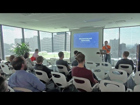 Vancouver Startup Week @ Elastic Path - Microservices and Hypermedia by Matt Bishop