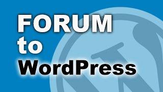 видео Форум для WordPress
