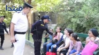 انتشار «العنف ضد المرأة» فى حديقة الحيوان