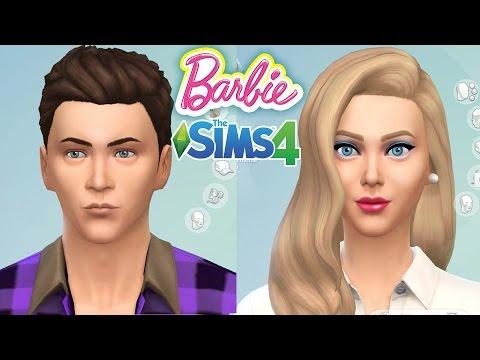 Barbie ve Ken Yapımı | The Sims 4 oyununda Barbie ve Ken nasıl olur?  | Evcilik TV Barbie Oyunları