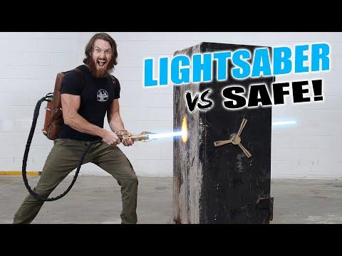 PROTO-LIGHTSABER vs BANK VAULT ($30,000 GIVEAWAY)