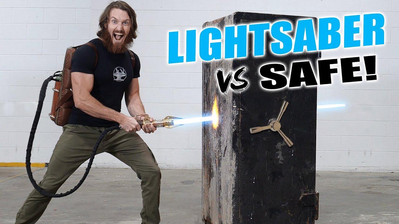 LIGHTSABER vs BANK VAULT ($30,000 GIVEAWAY)