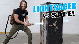 LIGHTSABER vs BANK VAULT ($30,000 GIVEAWAY)