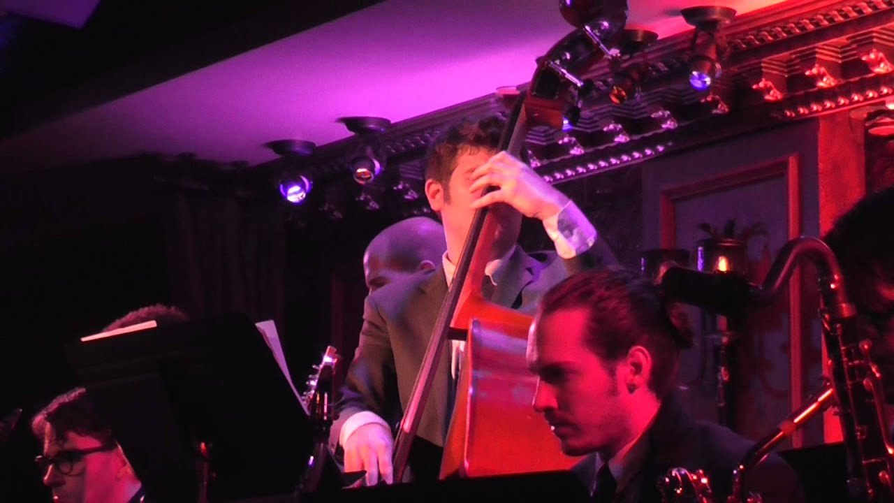 charlie rosen 39 s broadway big band andy mientus at 54 below youtube. Black Bedroom Furniture Sets. Home Design Ideas