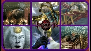 Bayonetta-All Enemy & Boss Introductions