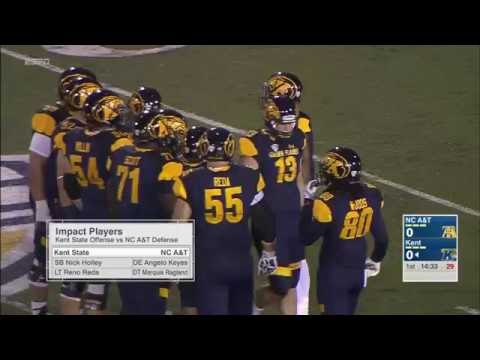 NCAA Football 2016 MUST SEE - North Carolina A&T vs Kent State Week 2