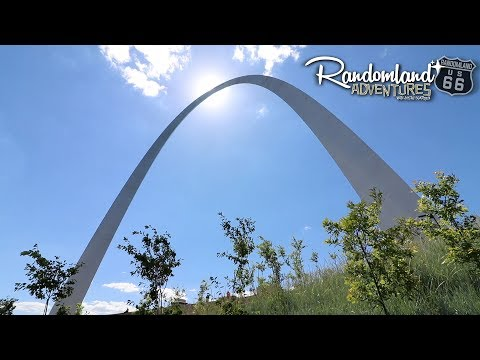 Why I didn't make it to the top of the Arch! Route 66 through Saint Louis