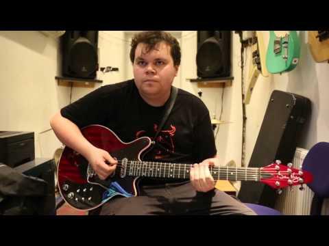 Bohemian Rhapsody Queen Live Guitar Cover By Dan Booth