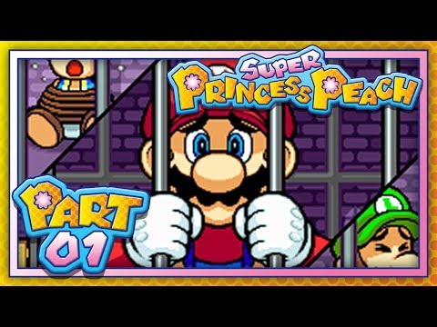 Super Princess Peach:  Part 1 - World 1 - Ladida Plains (100%)