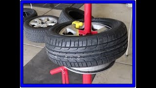 How to use the Harbor Freight Tire installer, my first time using :)