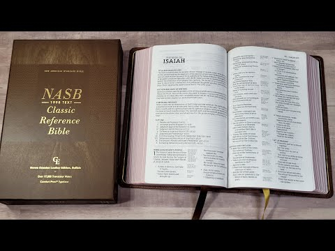 NASB 1995 Classic Reference Bible