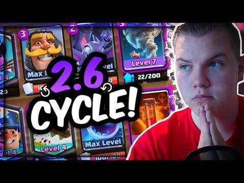 INSANE CYCLE! 2.6 Princess Miner Tornado Control Deck! LIVE Gameplay Grand Challenge! - Clash Royale