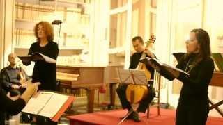 "Claudio Monteverdi - ""Sancta Maria succurre miseris"" - a doi soprani e basso continuo."