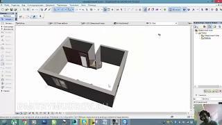 Как работать со слоями и макетами в Архикаде 6 - Урок архикад по SKYPE