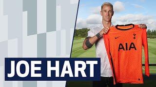 JOE HART'S FIRST SPURS INTERVIEW