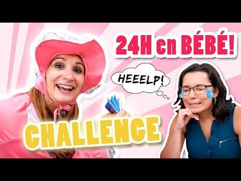 24h en BÉBÉ pour tester l'INSTINCT MATERNEL de CHARLAINE! - Video challenge Angie Maman 2.0