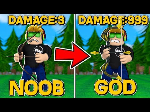 FROM NOOB TO GOD In ROBLOX ARCHERY SIMULATOR