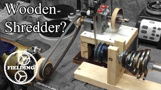 Building Precious Plastics Shredder Out of Wood? Part 1: 027