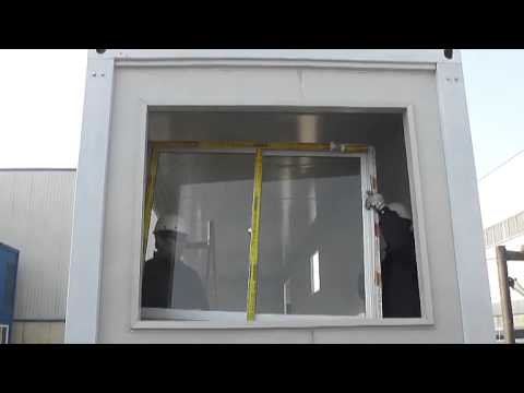 Installation Video of 40 foot Container House