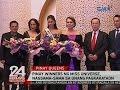 Pinay Winners Ng Miss Universe Nagsama-sama Sa Unang Pagkakataon