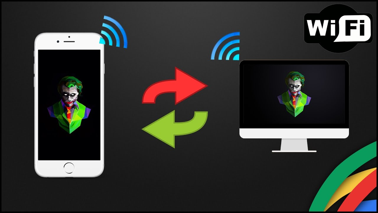 Tutorial Trasferire Foto E Video Tra Iphone Ipad Ipod Touch E Pcmac Tramite Wi Fi Ita