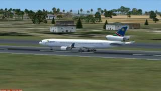 """""""Air Namibia"""" MD-11 Burundi to Kinshasa, Congo [DRC]"""
