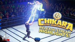 nL Highlights - CHIKARA ACTION ARCADE WRESTLING [Release Stream]