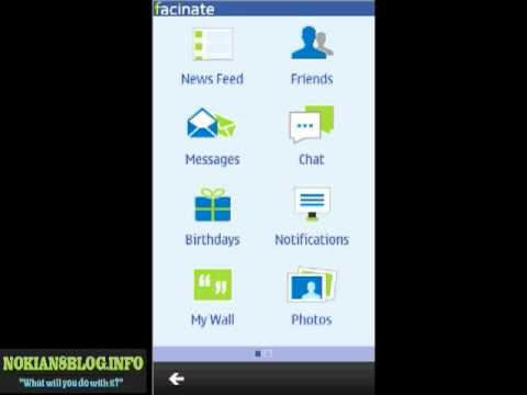 Facebook Client 'Fascinate' For Symbian Anna - NokiaN8Blog.Info