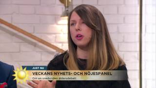 Fo&O-Oscars kärlek är 29 år äldre - väcker reaktioner - Nyhetsmorgon (TV4)