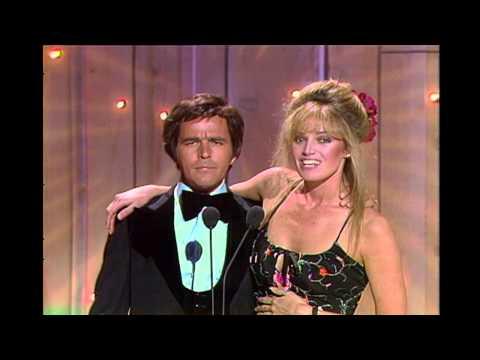 Susan Anton & Jim Stafford Dress Gets Caught  1981 ACM Awards