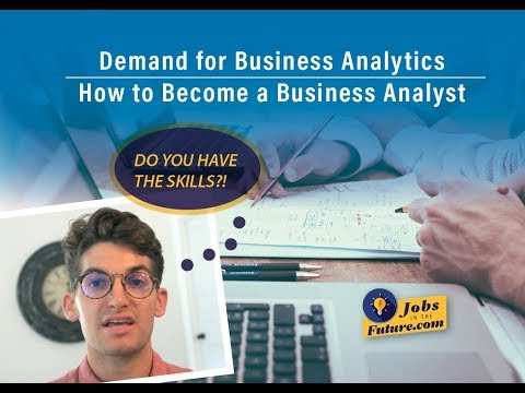 Demand for Business Analytics - How to Become a Business Ana
