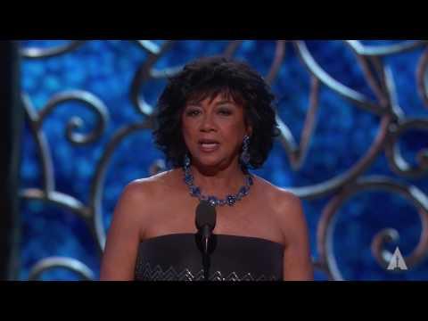 President Cheryl Boone Isaacs at the 2017 Oscars
