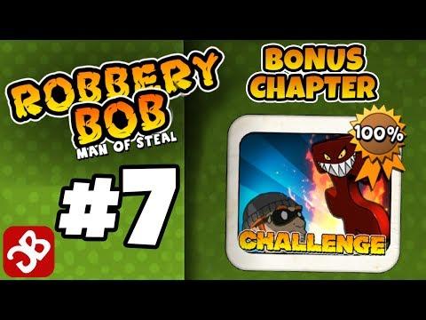 Robbery Bob - Bonus Chapter (CHALLENGE) Level 1-15 Gameplay Video