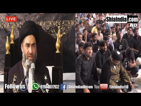 Maulana Syed Ali Raza Rizvi   Majlis 02    Hyderabad ,India   11th Jamadi-US-Saani 1439-2018