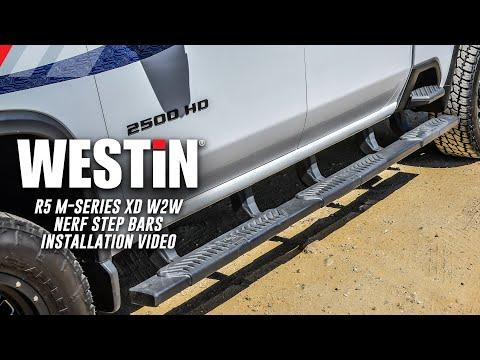 R5 M-Series XD Wheel-To-Wheel Nerf Step Bars (Installation Video)