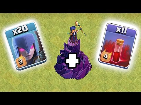 Thumbnail: GET REKT w/ NEW WITCH EVENT!!!😀INSANE OVERLOAD🔸Clash of clans