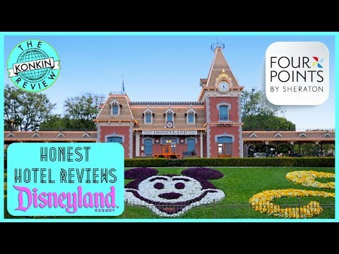 A Walk To Disneyland From The Four Points By Sheraton Anaheim