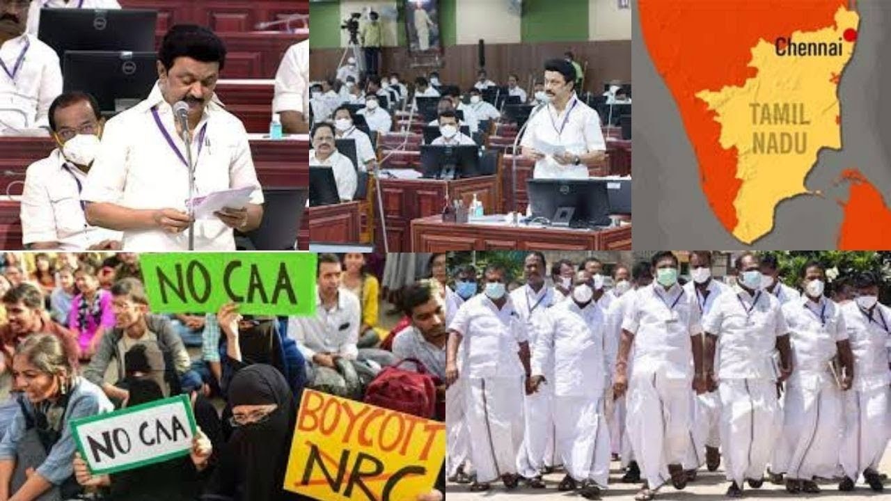 TN passes resolution against CAA after opposition walkout
