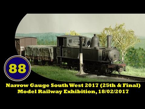 Narrow Gauge South West 2017 (25th & Final) - Model Railway Exhibition, 18/02/2017