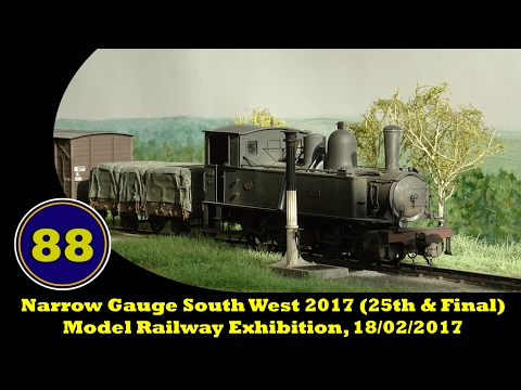 Narrow Gauge South West 2017 (25th & Final) - Model Railway Exhibition, 18/02/2017