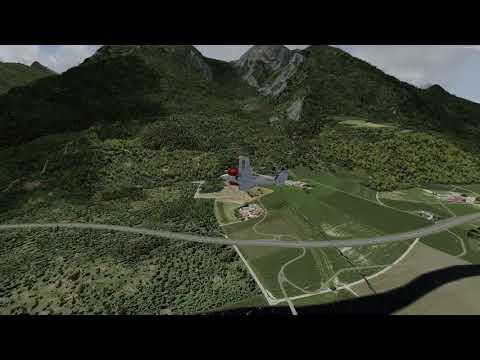 Canadian Xpress April 27th, 2018 VFRiday - Switzerland - P3D v4.2