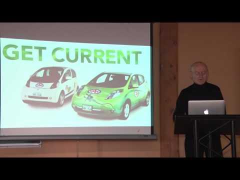 Electric vehicles for a greener Manitoba: Robert Elms at Ignite Winnipeg