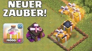 GEBURTSTAGSDONNER - NEUER ZAUBER! || Clash of Clans Update || LP CoC