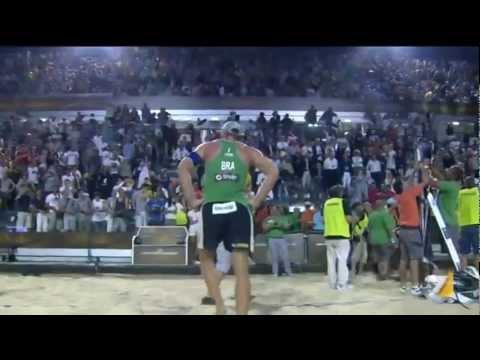 Alison/Emanuel (BRA) 2x0 Marcio/Ricardo (BRA) Gold Medal Match -  Rome 2011