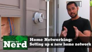Setting up a home network