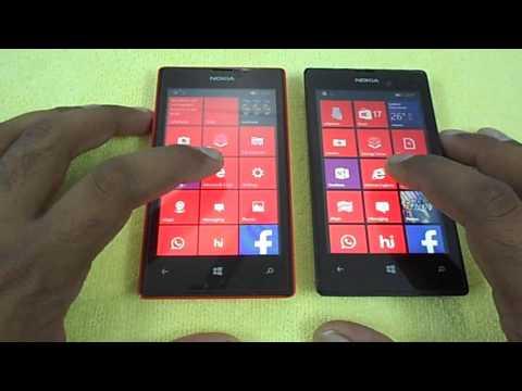 Windows 10 Mobile Vs Windows Phone 8.1 On Nokia Lumia 520